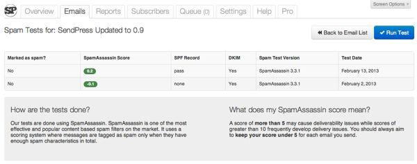 sendpress-pro-released-spamscore