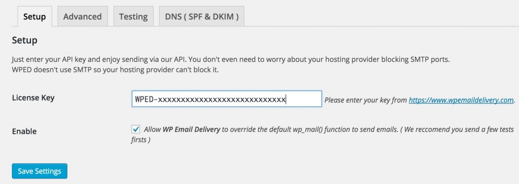 wp-email-delivery-plugin-screenshot